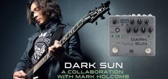 Dark Sun Guitar Pedal – Delay + Reverb – Mark Holcomb – Periphery