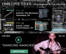 "Dave Matthews ""Dancing Nancies"" VIDEO from Live Trax 48 / 1994-The Birchmere / Alexandria, VA"