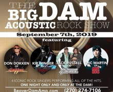 Dokken, Jack Russell (Great White), Winger, Eric Martin (Mr. Big) @ Beaver Dam, KY 2019 – Acoustic Performance