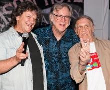 Henry Diltz, Michael Lang & John Sebastian Celebrate the 50th Anniversary of Woodstock at Morrison Hotel Gallery in LA