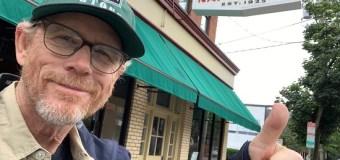 "Ron Howard, ""Had Some Tremendous Pizza"" @ Frank Pepe Pizzeria Napoletana, New Haven, CT – 2019 Movie"