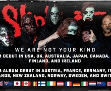 Slipknot: #1 Album Debut In USA, UK, Australia, Japan, Canada 2019 'We Are Not Your Kind'