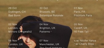 Barrie 2019 Tour Info – UK/Europe – Hamburg, Amsterdam, Berlin, Brussels, Paris, London