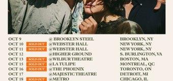 Big Thief 2019 Tour US/Canada-NY, Boston, Montreal, Toronto, Detroit, Chicago, Portland…..