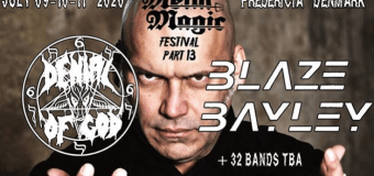 Blaze Bayley @ Metal Magic Festival 2020 – Iron Maiden 25th Anniversary Set – Denmark