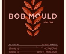 Bob Mould 2019 Tour Launches in Cleveland – Next Ann Arbor, Indianapolis, Louisville, Nashville…..