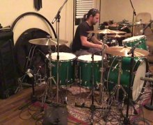 Brian Tichy: Single Foot Footwork – 'Long Live John Bonham' – VIDEO