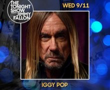 Iggy Pop on Jimmy Fallon+Tonight Show 2019