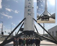 Iron Maiden Visit SpaceX 2019