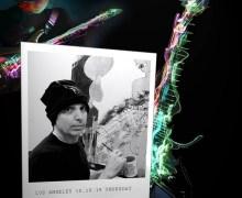 Joe Satriani: Fine Art Debut @ Mr Musichead Gallery Hollywood, CA 2019
