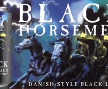 King Diamond Beer w/ Abigail Can – Black Horsemen – Danish Style Black Lager