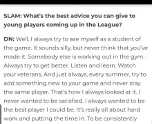 Mark Cuban: Advice from Dirk Nowitzki that applies to basketball, school and life in general