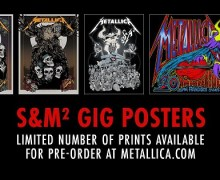 Metallica: Limited S&M² Gig Posters Available