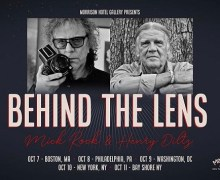 Mick Rock+Henry Diltz East Coast Slideshow Tour 2019/Boston/Philadelphia/DC/NY-Behind The Lens