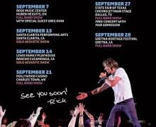 Rick Springfield 2019 Tour Dates – Dallas, Cincinnati, Santa Clarita, Rancho Cucamonga, CA