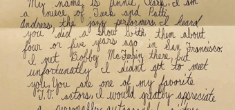 St. Vincent's 4th Grade Handwritten Letter to Bill Cosby