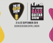 Paul Gilbert: 2019 UK Guitar Show & London Bass Guitar Show – Discount Tickets