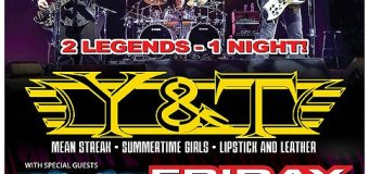 Zebra w/ Y&T @ The Chance Theater – NY 2020