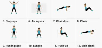 A 7 Minute Workout Routine