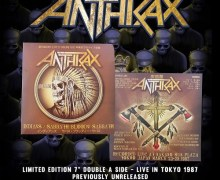 "Anthrax ""Indians"" / ""Sabbath Bloody Sabbath"" Limited 7″ – Live in Tokyo – Vinyl"