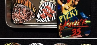 Bruce Kulick 35th Anniversary Guitar Pick Tin – BK KISS Signature Design – Animalize