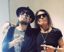 "Dave Navarro, ""We used to ditch and get to the clubs EARLY to see Ratt""+Stephen Pearcy+Lack of Communication"