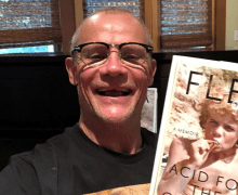 "Flea: 2019 Book 'Acid for the Children' – ""JUST GOT THE FIRST REAL FINISHED COPIES"""
