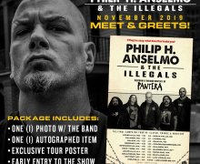Phil Anselmo 2019 VIP Meet & Greet – Vulgar Display of Pantera – Slayer