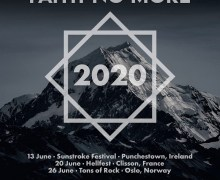 Faith No More Announces 2020 Concerts – Ireland, France, Norway – Sunstroke, Hellfest, Tons of Rock