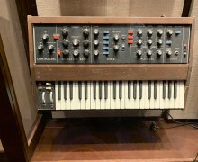 "Gary Numan's Mini-Moog ""Are Friend's Electric?"" ""Down In The Park"" ""Cars"""