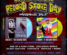 Insane Clown Posse: Psychopathic Record Store Day Auction/Tour/Raffles – Headquarters 2019