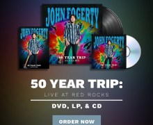 John Fogerty: Live at Red Rocks CD/DVD/LP – 50 Year Trip 2019