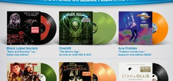 Record Store Day 2019 Black Friday Ace Frehley, Alice Cooper, Overkill, Jay & Silent Bob, Black Label Society