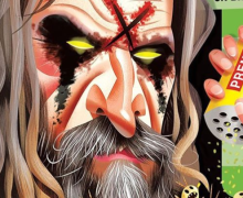 Rob Zombie in MAD Magazine 2019