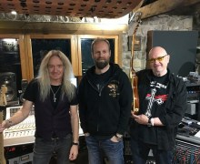 Saxon 2019: Tracking Guitars – New Album 2020