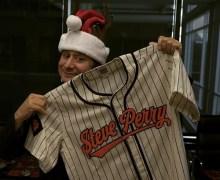 Steve Perry Baseball Jersey – Ebbets Field Flannels