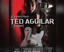Death Angel's Ted Aguilar Clinic/Meet & Greet Schedule 2019 – Canada – Ontario, Manitoba, Québec, Saskatchewan