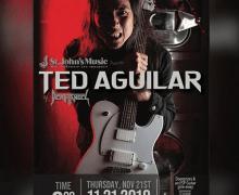 Death Angel's Ted Aguilar Clinic/Meet & Greet Schedule 2019 – Canada – Ontario, Manitoba, Québec, Saskatchewan
