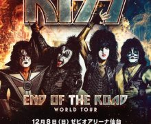 KISS: The Final Japan Tour 2019 – 'Sendai on Sunday' @ Xebio Arena