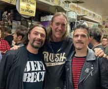 Charlie Benante, Danny Carey, John Tempesta @ Pro Drum Shop Hollywood 2019