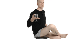 "Devin Townsend, ""You can't shit in a tour bus toilet…""  TOUR BUS RULES"