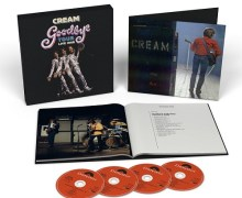 Cream Box Set  'Goodbye Tour – Live 1968' 4 CD