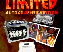 KISS: Autographed Road Case Vinyl Box Set