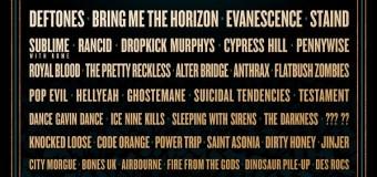 Metallica/Slipknot/Deftones @ Sonic Temple Festival 2020 – Columbus, OH – Tickets