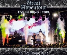 The Neal Morse Band: 'The Great Adventour – Live in BRNO 2019' 2 CD – Blu-ray w/ Documentary