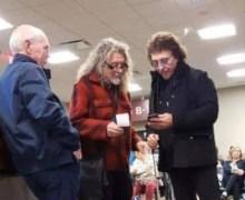 Robert Plant & Tony Iommi @ Nashville Airport 2019