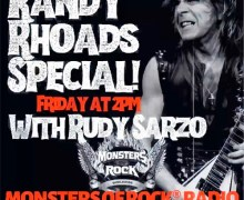 Six Degrees of Sarzo to Celebrate the Life of Randy Rhoads w/ His Siblings Kelle & Kathy