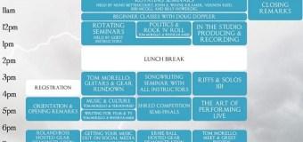 TOM MORELLO'S GUITAR REVOLUTION: 2020 Schedule Unveiled