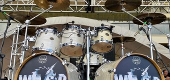 W.A.S.P. Drumset 2019 Bogota, Columbia @ Knotfest – Aquiles Priester – VIDEO