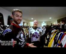 Tour Metal Blade Records Founder Brian Slagel's Hockey Jersey Collection – VIDEO